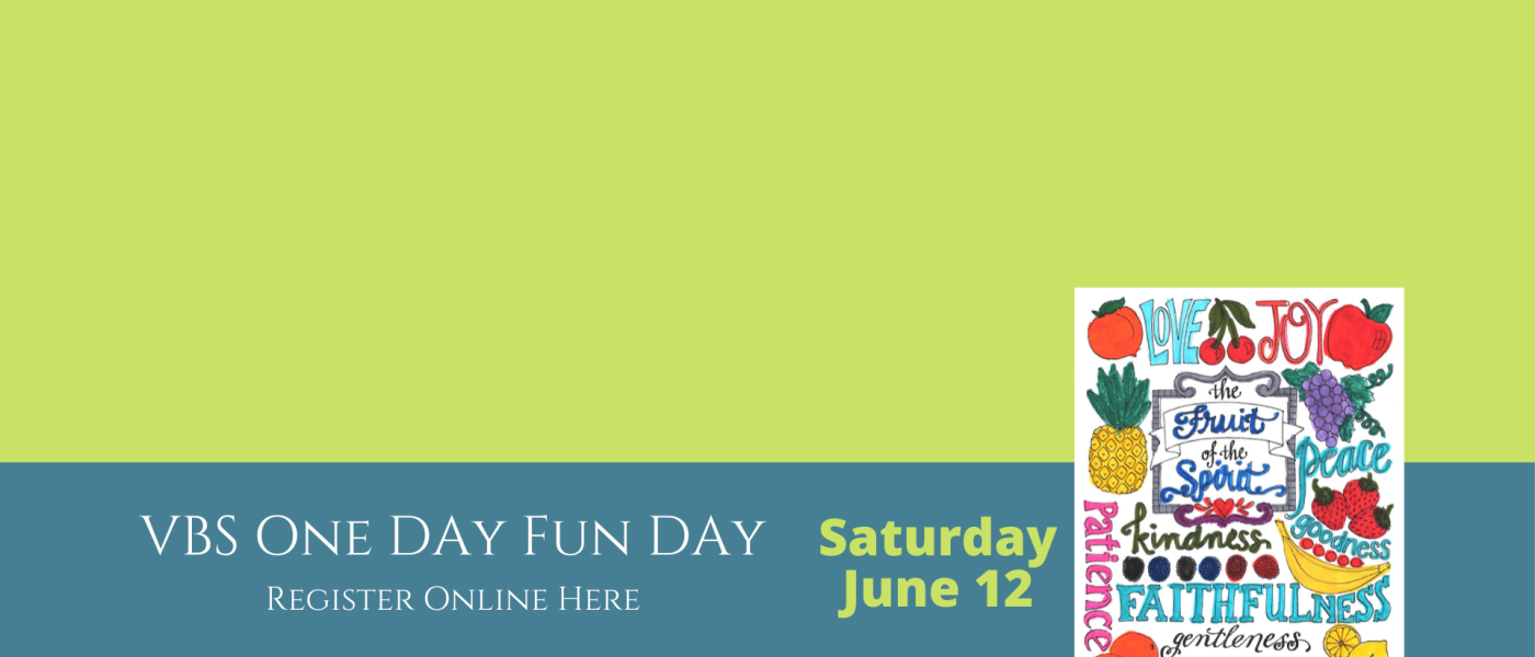 VBS One Day Fun Day registration
